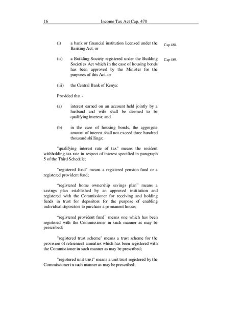 section 51 income tax act income tax act kenya
