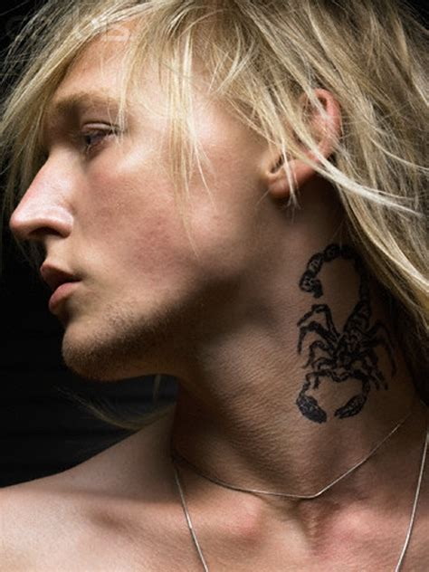 tattoos on the neck for men 50 ideas for which are creativefan