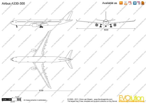Online Floor Plan the blueprints com vector drawing airbus a330 300