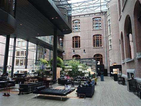 Interior Design For Conservatory Conservatorium Hotel Amsterdam Design Hotel In Amsterdam