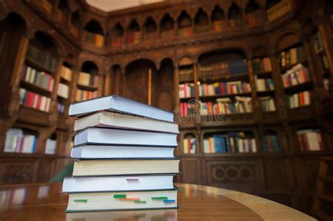 stacked books  library   background stock photo