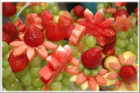foodspiration baby shower food ideas fruity flowers most favorites baby shower foods fruits if i ever need