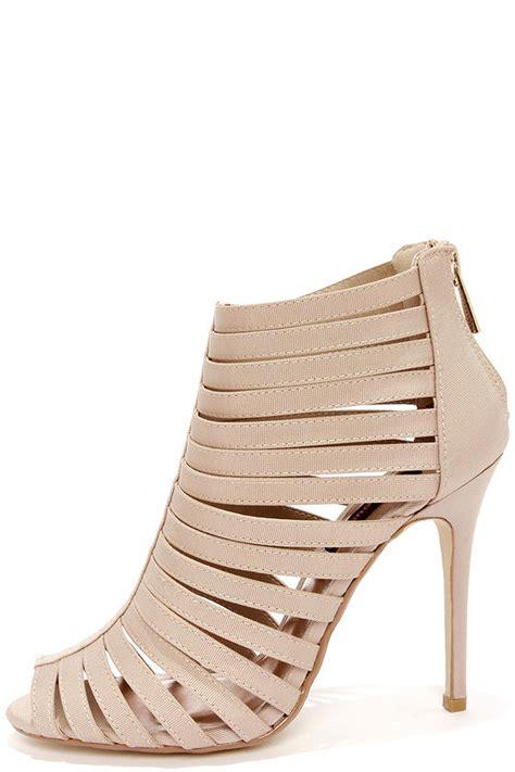 dollhouse xo heels caged heels peep toe heels 42 00