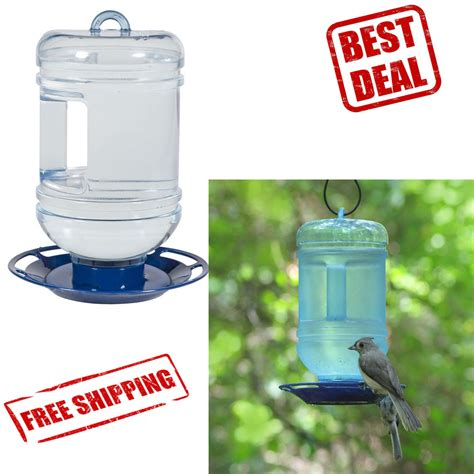 bird waterer water feeder pet drinker aviary cup wild