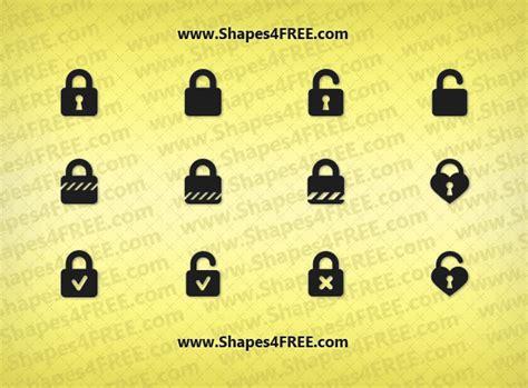 illustrator pattern lock 12 photoshop lock shapes csh photoshop custom shapes