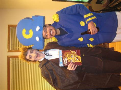 Wedding Crashers Grow Up Pan by Count Chocula Cereal Costume 2011