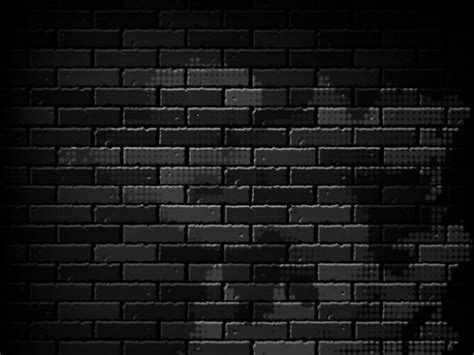 dark brick wall background black brick wall on dark background vector free download