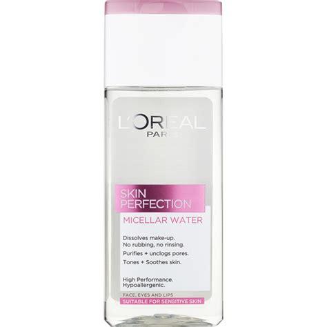 L Oreal Micellar Cleansing Water l or 201 al skin perfection micellar cleansing water
