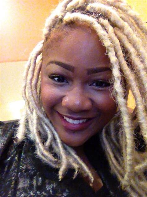 using marley hair on synthetic dreds blonde dread extensions with marley hair hair