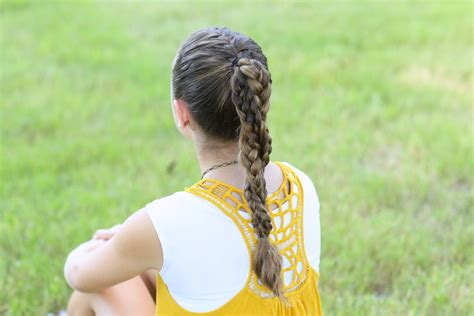 Sports Hairstyles by The Run Braid Combo Hairstyles For Sports