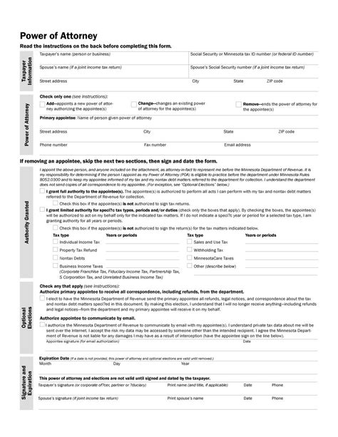 special power of attorney template free 50 free power of attorney forms templates durable
