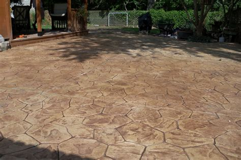 sted concrete patio minneapolis concrete vs paver patio