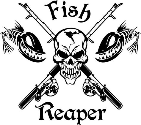 Fish Reaper Stickers