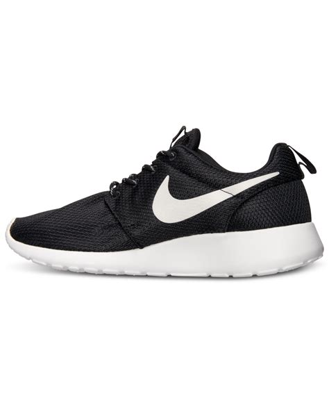 nike s roshe run casual sneakers from finish line in