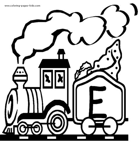 alphabet train coloring page alphabet train learning letters sketch coloring page