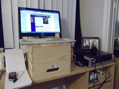 stand at your desk make your own standing desk homesfeed