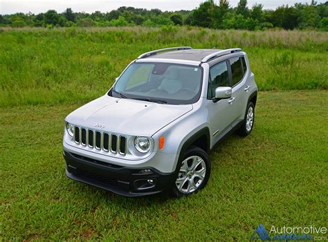 2016 Jeep Renegade by 2016 Jeep Renegade Limited 4 215 4 Review Test Drive