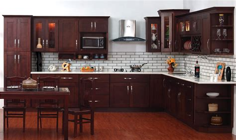 decorating ideas kitchen cabinets espresso with glass tile contemporary kitchen design using espresso cabinets