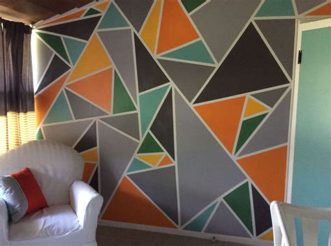colors creative wall painting wall design