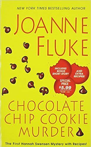 the chocolate the crime solving cousins mysteries books review chocolate chip cookie murder by joanne fluke the