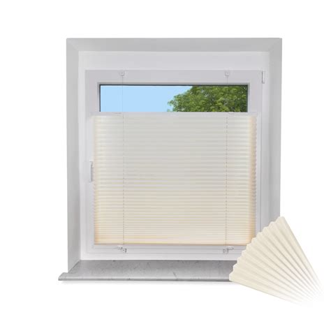 Rollo Fenster by Klemmfix Plissee F 252 R Fenster T 252 Re Faltrollo Rollo