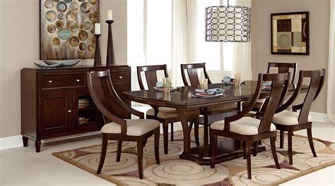 homelegance aubriella pedestal dining set cherry 5115
