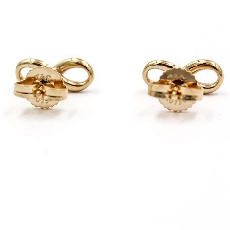 and co infinity earrings co gold infinity earrings tradesy