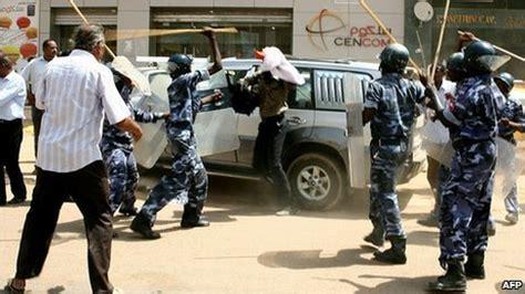 south sudan police sudan rivals clash in capital amid north south tension