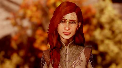 dragon age inquisition hair yennefer s hair attempt at dragon age inquisition nexus