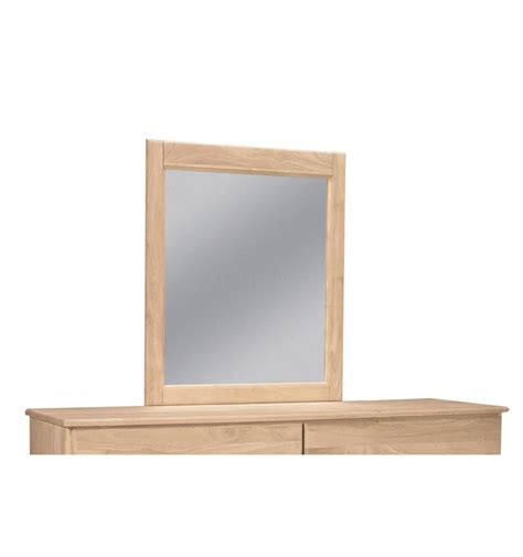 28 inch jamestown mirror bare wood wood furniture - 28 Inch Mirror
