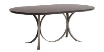 Home manhattan oval dining table