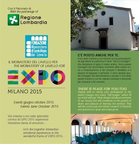 monastero lavello il monastero lavello per expo 2015 un paese
