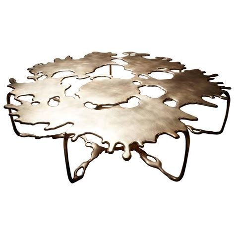 Opus Coffee Table Bronze Magnum Opus Puddle Coffee Table By Stefan Bishop For Sale At 1stdibs