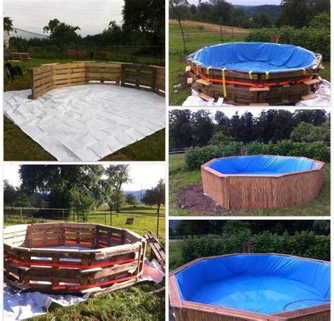 pallet diy swimming pool mascotas furniture diy swimming pool and pools