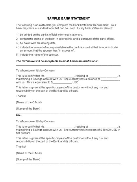 free bank statements templates statement template 102 free templates in pdf word