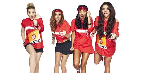little mix n little mix word up group unveil 2014 sport relief