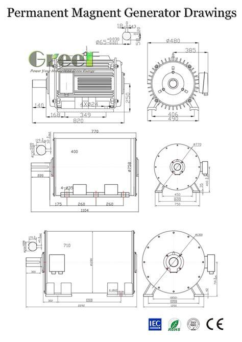 permanent magnet alternator wiring diagram windmill