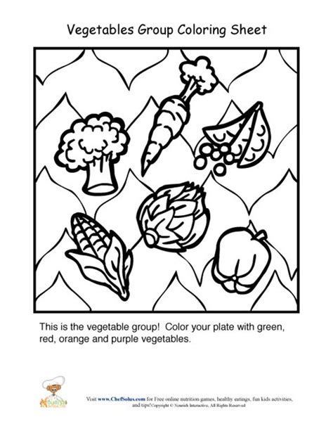 Protein Food Group Coloring Pages Food Groups Coloring Pages