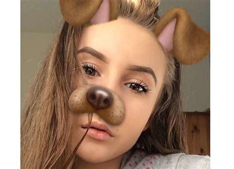 dublin girl thinks  dog filter  snapchat