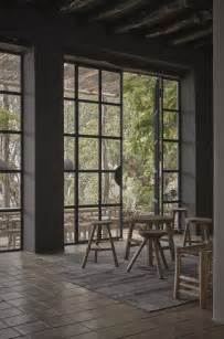 hardscaping steel factory style windows and doors gardenista dining room exterior french
