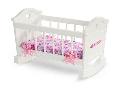 american bitty baby crib bitty s rocking cradle bitty baby shops babies and bitty baby