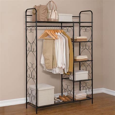 Closet Saver by Theultimatebrylanehome Sweeps 5 Tier Metal Closet With