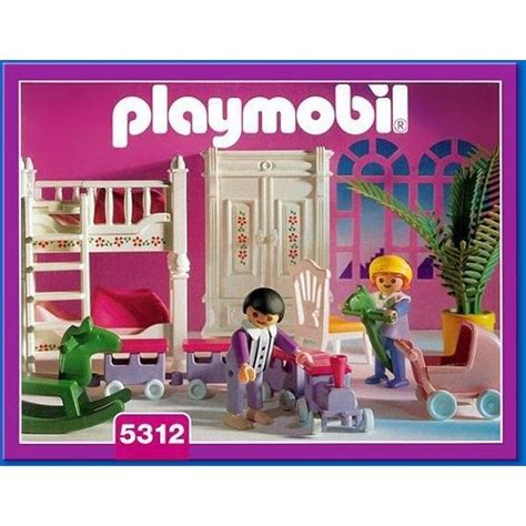 playmobil chambre enfant playmobil 5312 chambre d enfants 201 poque victorienne