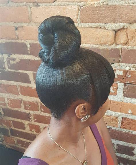 teen hairstyles for black girls bun and bang 25 best ideas about ninja bun on pinterest natural hair