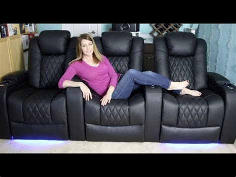 valencia home theatre seating review motorized led