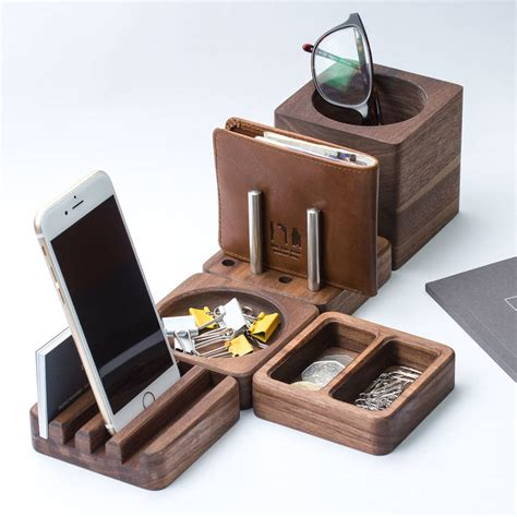 Desk Tidy by Solid Wood Desk Tidy Modular Set By Gun