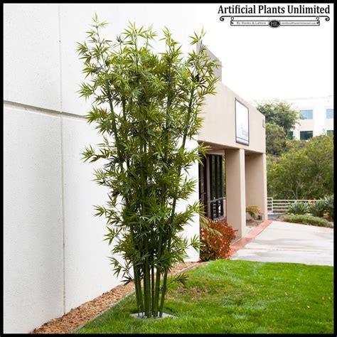 lush artificial outdoor bamboo clusters artificial