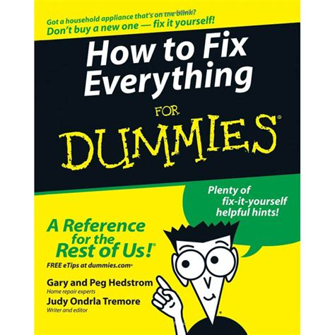 shop how to fix everything for dummies at lowes