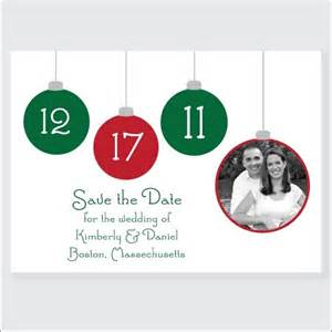 marry christmas winter save the date ideas
