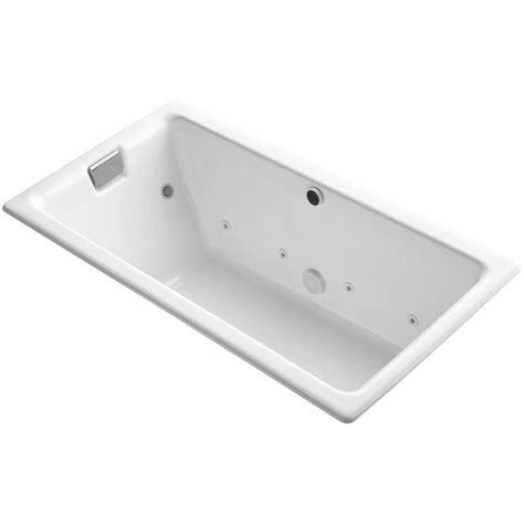 chromatherapy bathtub kohler tea for two 5 5 ft effervescence whirlpool and air